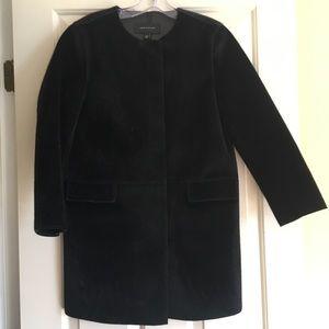Amazing Ann Taylor Faux Fur Topper Coat